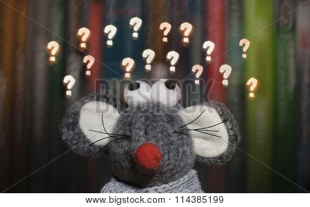 Conceptual Illustration Of Being Confused Or Asking Questions