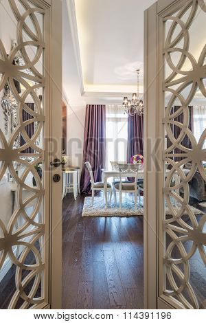 Dining Room- View Through The Door