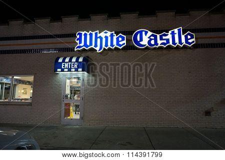 White Castle Restaurant on New Year's Eve