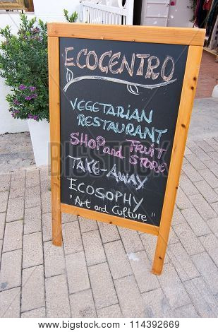 Ecocentro Vegetarian Restaurant