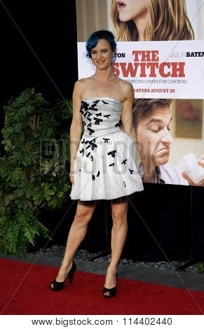 HOLLYWOOD, CALIFORNIA - August 16, 2010. Juliette Lewis at the Los Angeles premiere of