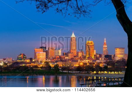 Cleveland Golden Hour