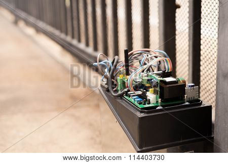 Electronic Gate Control System Motor