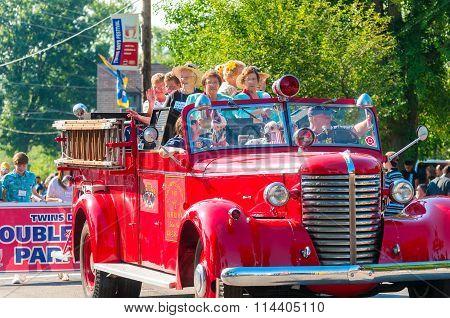 Fire Truck Twins