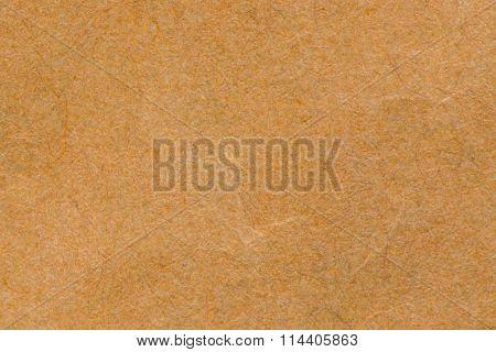 Paper Texture - Brown Kraft Sheet Background.