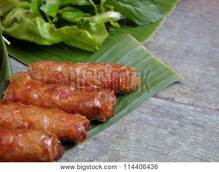 Vietnamese Food, Spring Roll, Bun,cha Gio