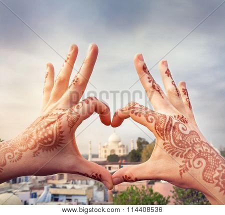 I Love India Concept