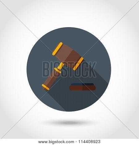Gavel flat icon