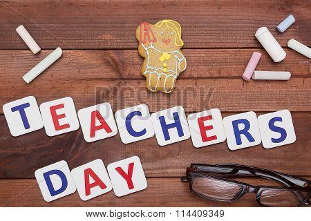 Teachers Day Congratulatory Poster