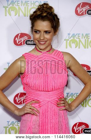 Teresa Palmer at the Los Angeles Premiere of