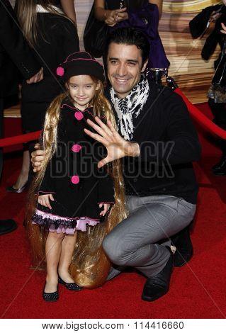 HOLLYWOOD, CALIFORNIA - November 14, 2010. Gilles Marini at the Los Angeles premiere of