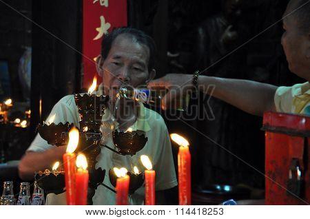 Jade Emperor Pagoda. Ho Chi Minh City, Vietnam