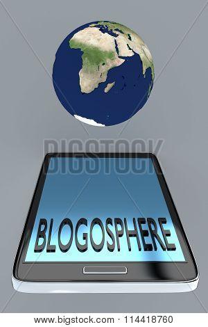 Blogosphere Concept