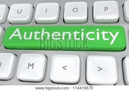 Authenticity Concept