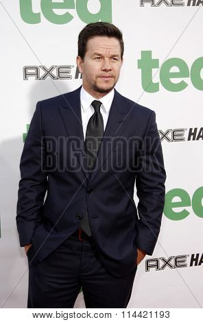 LOS ANGELES, USA - Mark Wahlberg at the Los Angeles premiere of