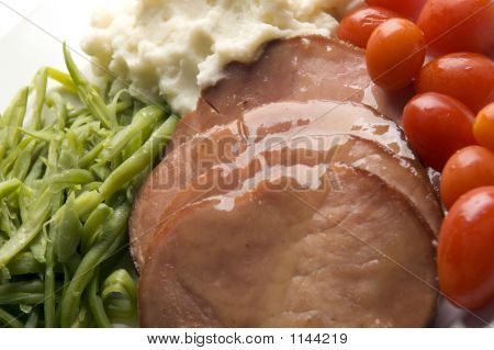 Glazed Ham Dinner
