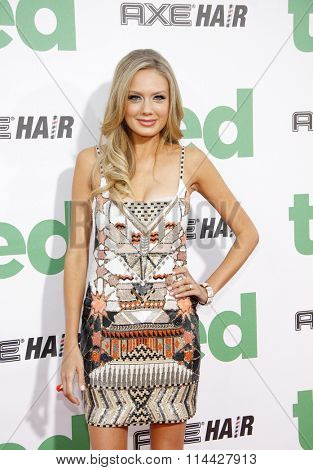 Melissa Ordway at the Los Angeles premiere of