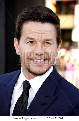 LOS ANGELES, CALIFORNIA - June 21, 2012. Mark Wahlberg at the Los Angeles premiere of 'Ted' held at the Grauman's Chinese Theater, Los Angeles.