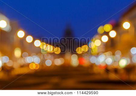 Prague. Wenceslas Square.