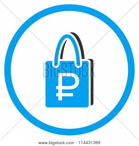 Rouble Shopping Icon