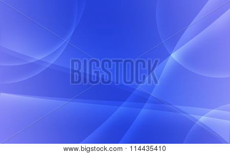 Blue Tint Abstract Wavy Background