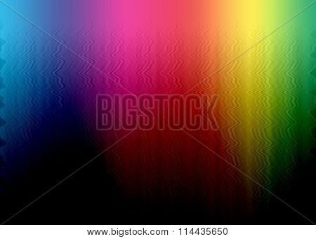 Abstract Rainbow Multicolor Background