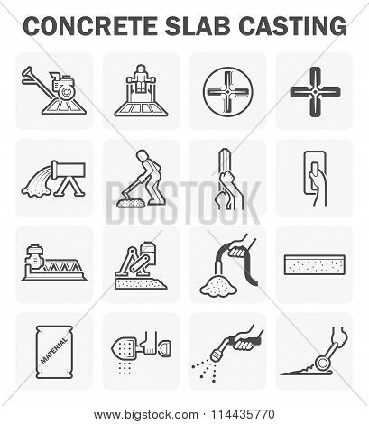 Concrete Floor Icons