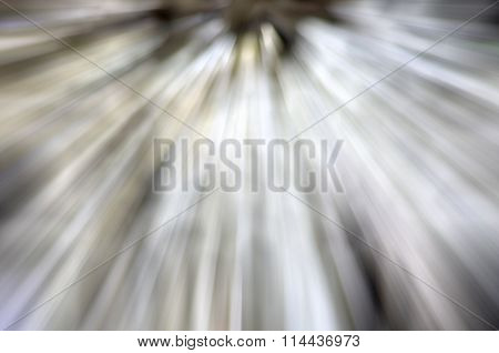 Abstract Background Of  Zoom Motion Blur