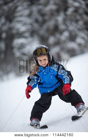 Little Ski Girl