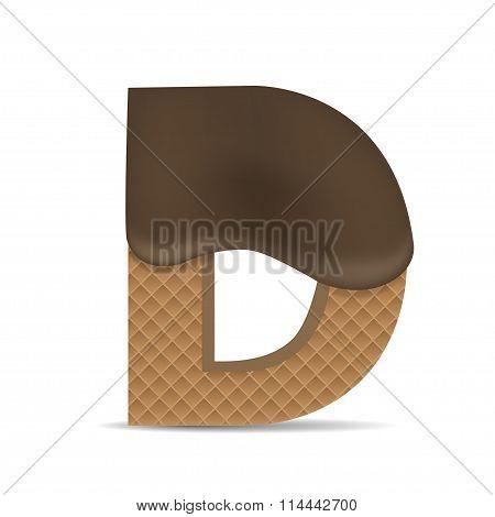 Wafer D letter