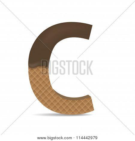 Wafer C letter