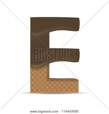 Wafer E letter