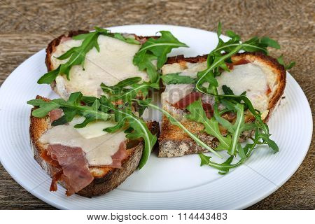 Bruchetta With Prosciutto