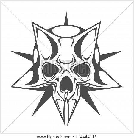 Cyber Skull in Star