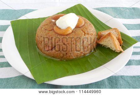 Indian Food Bread Halwa