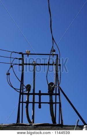 Rooftop Electiricity Wires