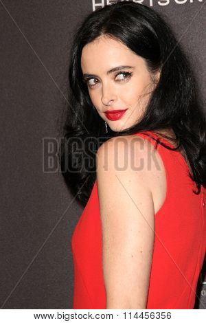 BEVERLY HILLS, CA - JAN. 10: Krysten Ritter arrives at the Weinstein Company and Netflix 2016 Golden Globes After Party on Sunday, January 10, 2016 at the Beverly Hilton Hotel in Beverly Hills, CA.