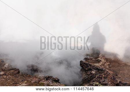Tatio Geysers In Atacama Desert, Chile