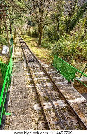 San Sebastian Funicular Track, Spain
