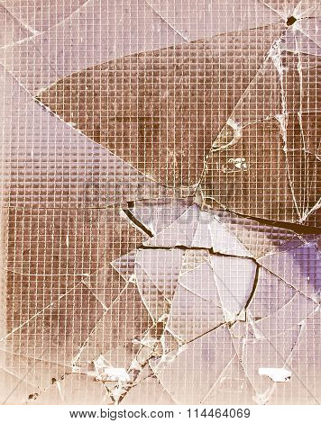 Broken Glass Vintage