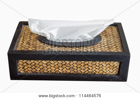 Tissue Paper Box Made By Basketry Bamboo