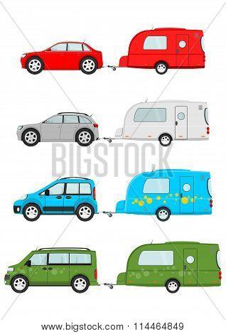 Cars And Caravan