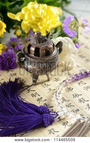 buddhims pray