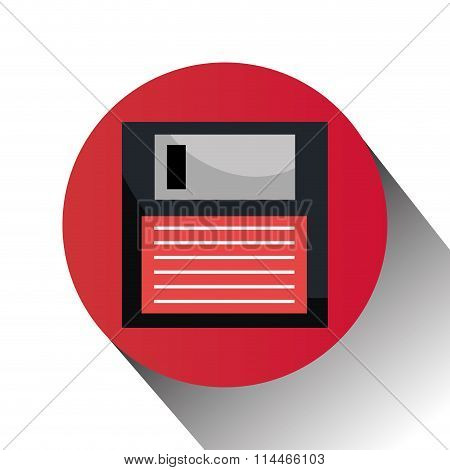 Diskette computer icon