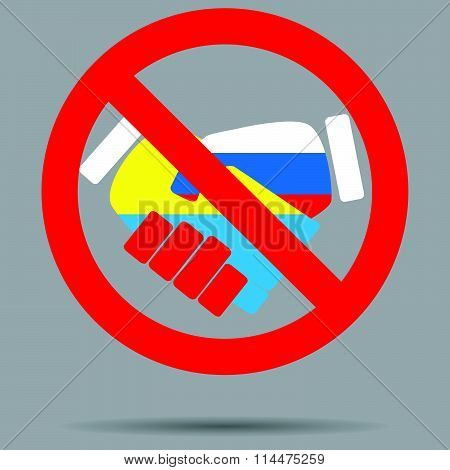 Ban sign cooperation ukraine and russia