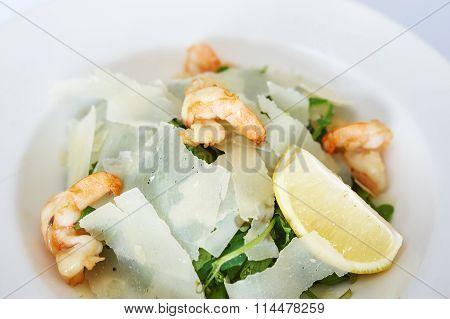 Shrimp Salad With Parmesan