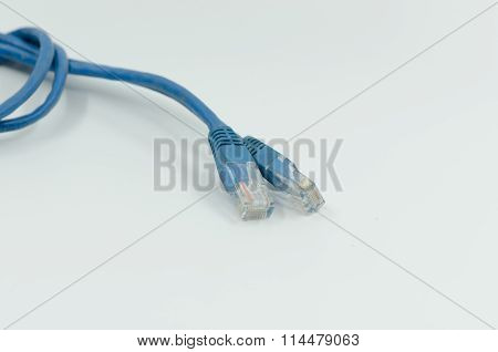 Blue Network Cable