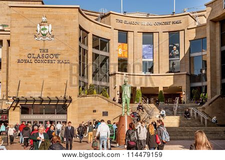 The Glasgow Royal Concert Hall.