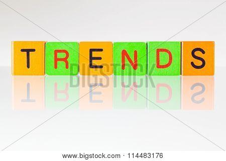 Trends - An Inscription From Children's Blocks