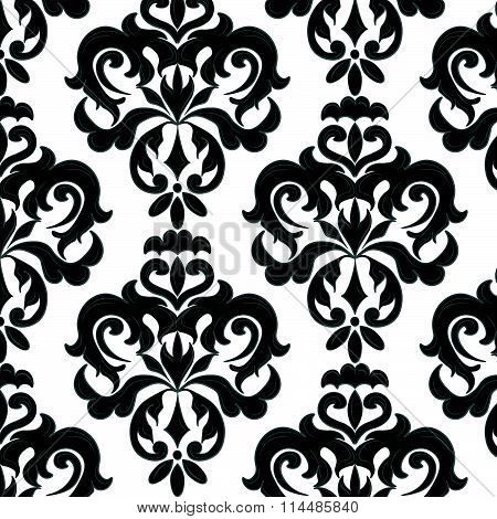 Classic floral ornament pattern